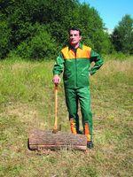 WATEX-Forst-Arbeits-Schutz-Berufs-Jacke, grün-orange