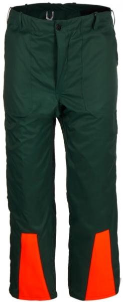 WATEX-Workwear, Forstschutz-Schnittschutz-Bundhose, grün/leuchtorange,