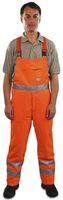 WATEX-Forst-Arbeits-Schnitt-Schutz-Berufs-Latz-Hose, inkl. Wadenschutz, Forest-Jack, leuchtorange
