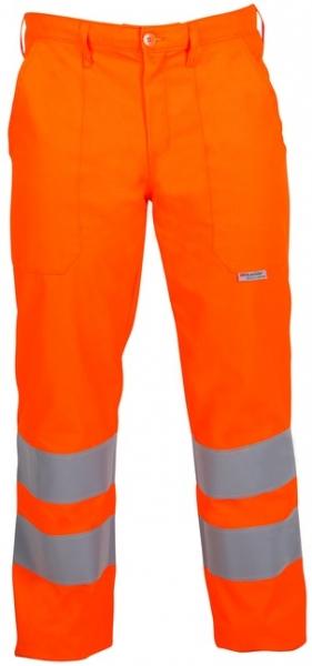 WATEX-Workwear, Forstschutz-Schnittschutz-Warn-Bundhose, Forest-Jack, leuchtorange
