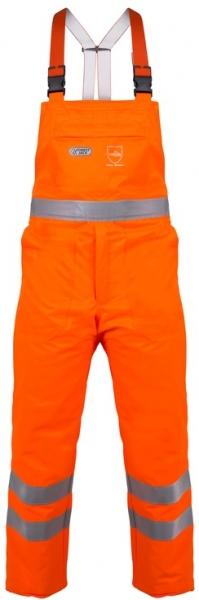WATEX-Workwear, Forstschutz-Schnittschutzwarn-Bundhose, leuchtorange,