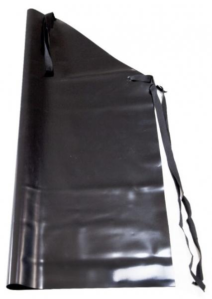 WATEX-PVC-Gummi-Arbeits-Berufs-Schutz-Schürzen, 0,50 mm stark, schwarz