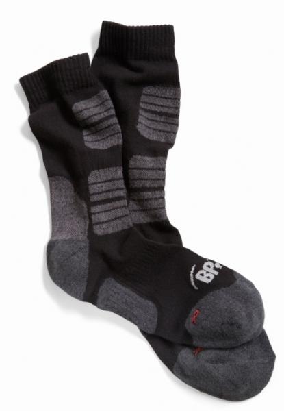 BP Worker-Socken, 5 Paar, schwarz/grau