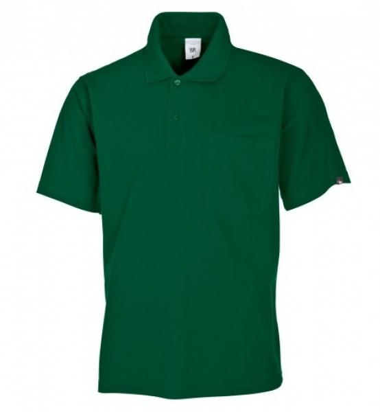 BP-Damen-Herren-Poloshirt, Arbeits-Berufs-Polo-Shirt, mittelgrün