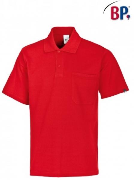 BP-Damen-Herren-Poloshirt, Arbeits-Berufs-Polo-Shirt, rot