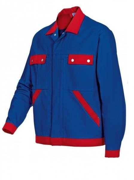 BP Arbeits-Berufs-Bund-Jacke, Blouson, königsblau-rot