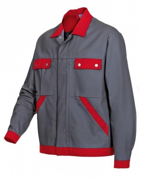BP Arbeits-Berufs-Bund-Jacke, Blouson, dunkelgrau-rot