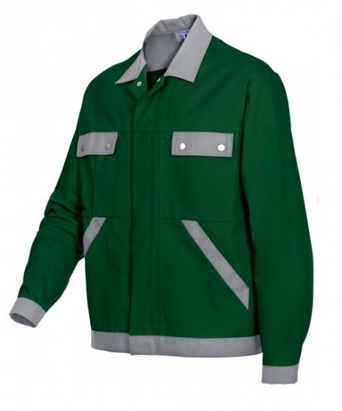 BP Arbeits-Berufs-Bund-Jacke, Blouson, mittelgrün-hellgrau