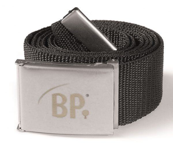 BP Gürtel schwarz 3-Stück-Packung, 145 cm