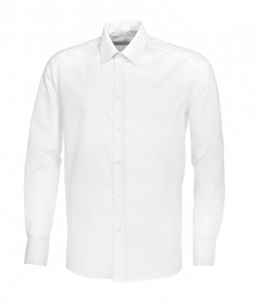 BP Herrenhemd, Arbeits- und Berufs-Hemd, 1/1-Arm, ca. 125 g/m², weiß