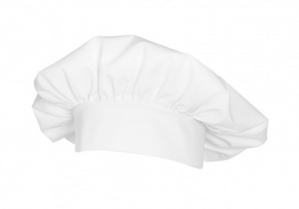 BP Kochmütze, MG215, 2-Stück-Packung, weiß
