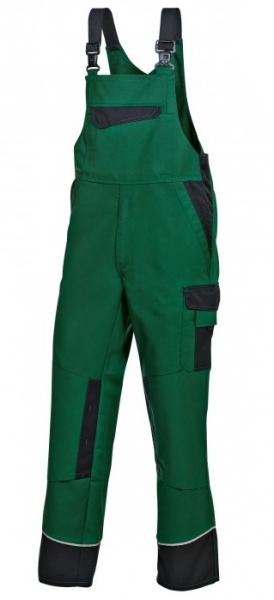 BP Arbeits-Berufs-Latz-Hose mittelgrün/schwarz