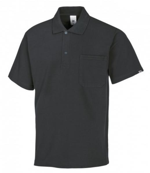 BP-Damen-Herren-Poloshirt, Arbeits-Berufs-Polo-Shirt, ca. 220g/m², anthrazit