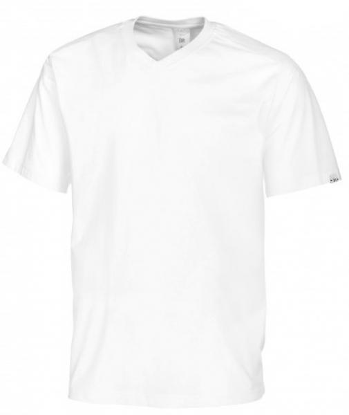 BP-Damen-Herren-T-Shirt, Arbeits-Berufs-Shirt, weiß