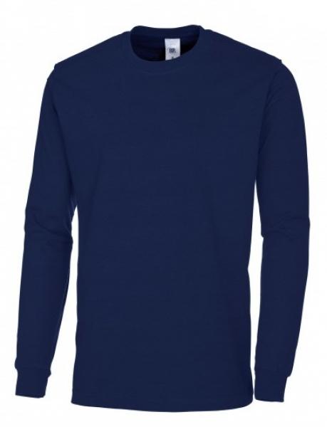 BP-Damen-Herren-T-Shirt, Arbeits-Berufs-Shirt, Langarm, nachtblau