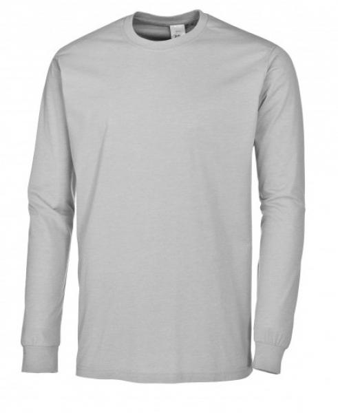 BP-Damen-Herren-T-Shirt, Arbeits-Berufs-Shirt, hellgrau