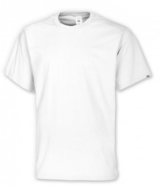 BP-Damen-Herren-T-Shirt, Arbeits-Berufs-Shirt, MG180, weiß