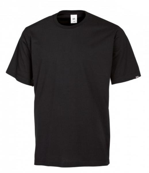 BP-Damen-Herren-T-Shirt, Arbeits-Berufs-Shirt, MG180, schwarz