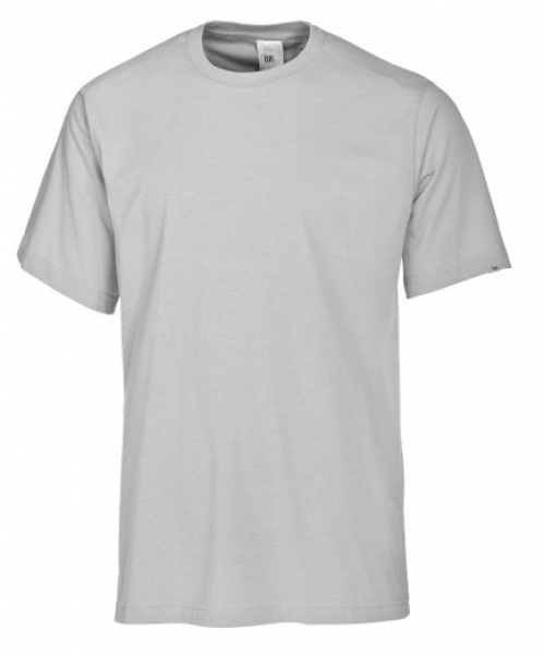 BP-Damen-Herren-T-Shirt, Arbeits-Berufs-Shirt, MG180, hellgrau