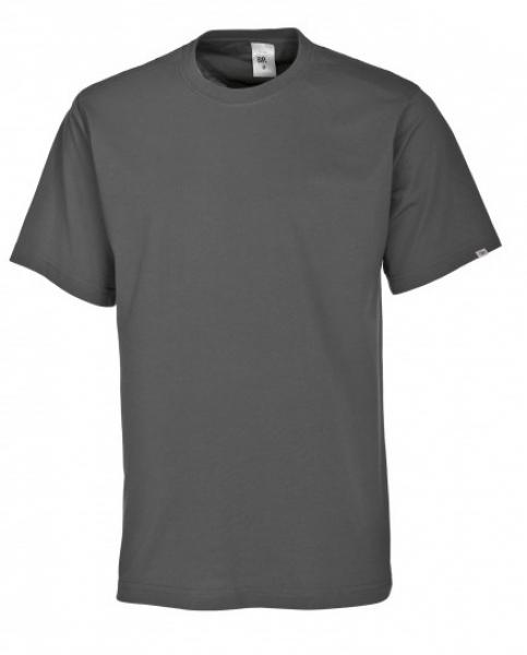 BP-Damen-Herren-T-Shirt, Arbeits-Berufs-Shirt, MG180, dunkelgrau