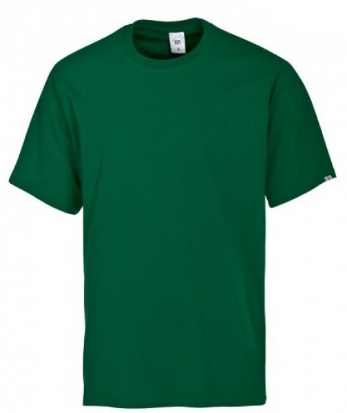 BP-Damen-Herren-T-Shirt, Arbeits-Berufs-Shirt, MG180, mittelgrün
