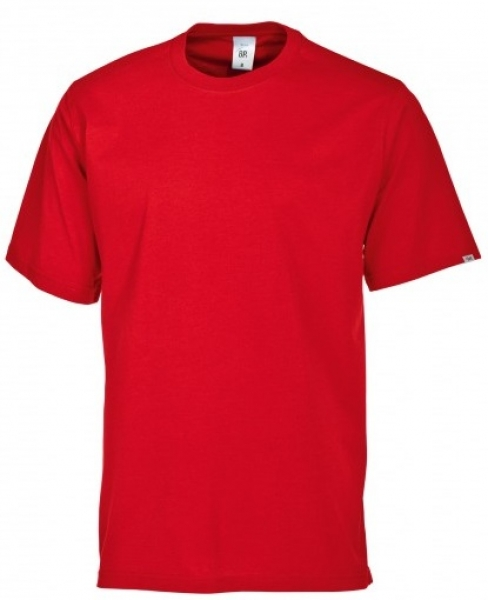 BP-Damen-Herren-T-Shirt, Arbeits-Berufs-Shirt, MG180, rot