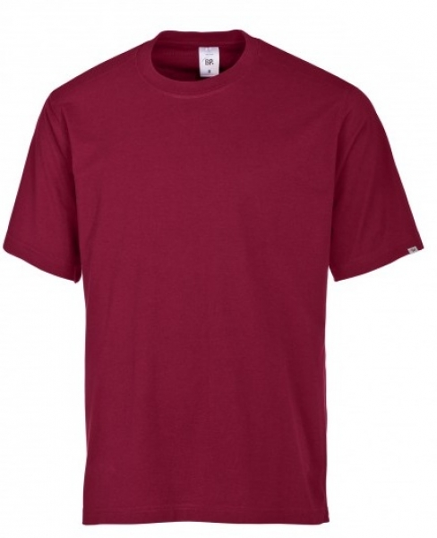 BP-Damen-Herren-T-Shirt, Arbeits-Berufs-Shirt, MG180, bordeaux