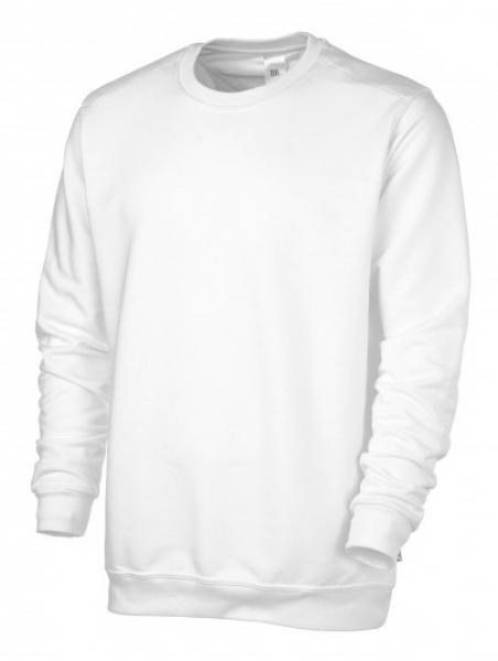 BP Sweat-Arbeits-Berufs-Shirt für Sie & Ihn, weiß
