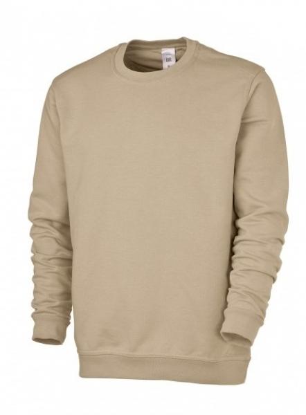 BP Sweat-Arbeits-Berufs-Shirt für Sie & Ihn, ecru