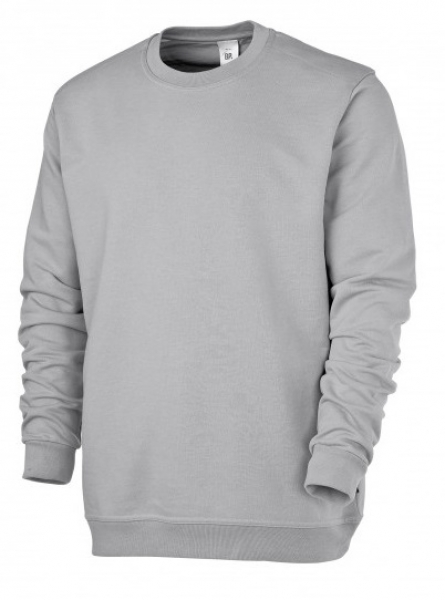 BP Sweat-Arbeits-Berufs-Shirt für Sie & Ihn, hellgrau