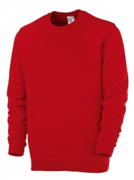 BP Sweat-Arbeits-Berufs-Shirt für Sie & Ihn, rot