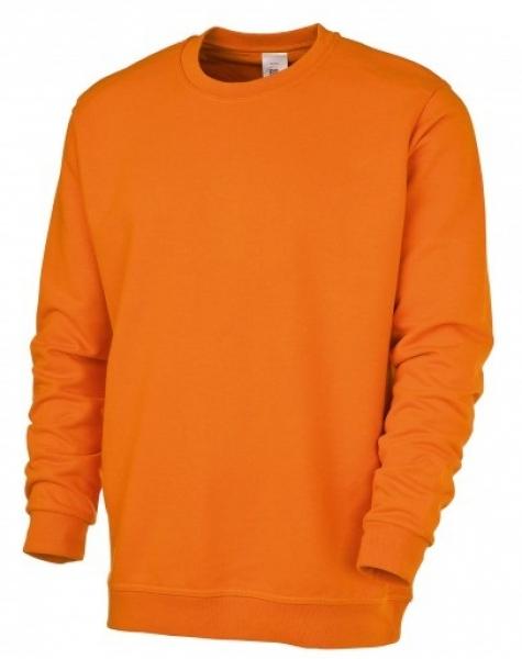 BP Sweat-Arbeits-Berufs-Shirt für Sie & Ihn, orange
