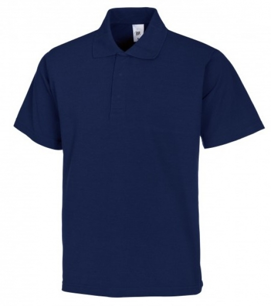 BP-Damen-Herren-Poloshirt, Arbeits-Berufs-Polo-Shirt, MG220, nachtblau