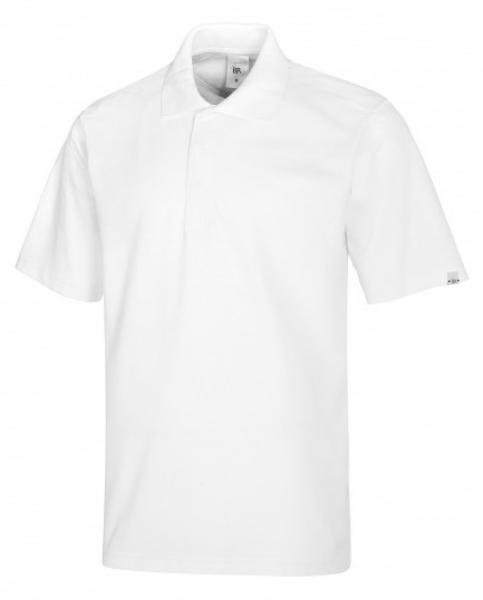 BP-Damen-Herren-Poloshirt, Arbeits-Berufs-Polo-Shirt, MG220, weiß