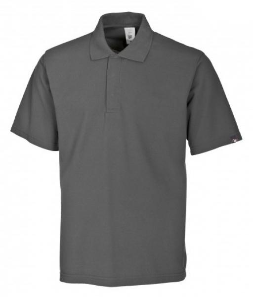 BP-Damen-Herren-Poloshirt, Arbeits-Berufs-Polo-Shirt, MG220, dunkelgrau