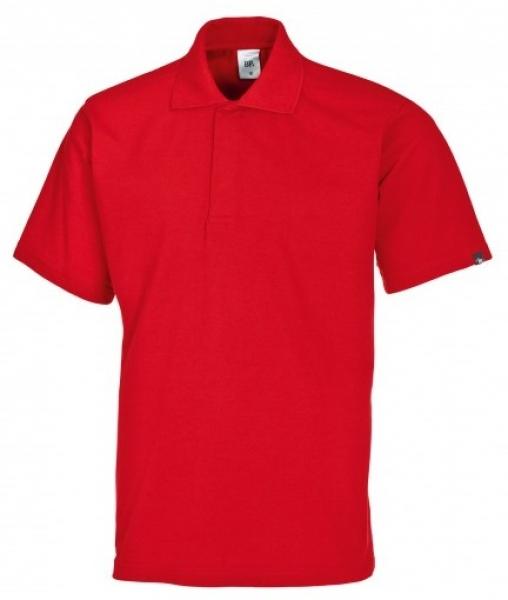 BP-Damen-Herren-Poloshirt, Arbeits-Berufs-Polo-Shirt, MG220, rot