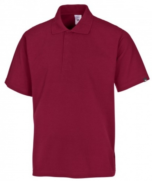BP-Damen-Herren-Poloshirt, Arbeits-Berufs-Polo-Shirt, MG220, bordeaux