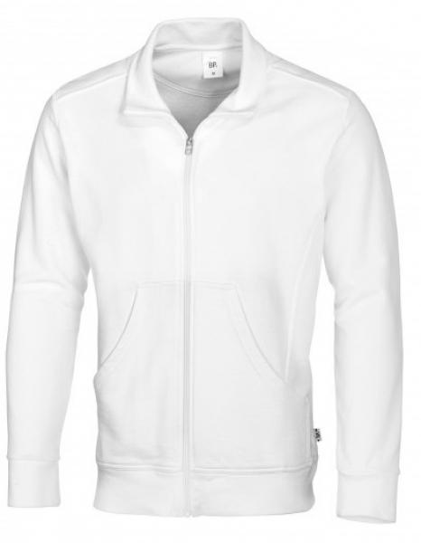 BP Arbeits-Sweat-Berufs-Jacke für Sie & Ihn weiß