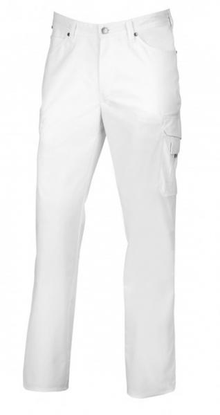 BP-Herren-Arbeits-Berufs-Hose, Jeans, weiß