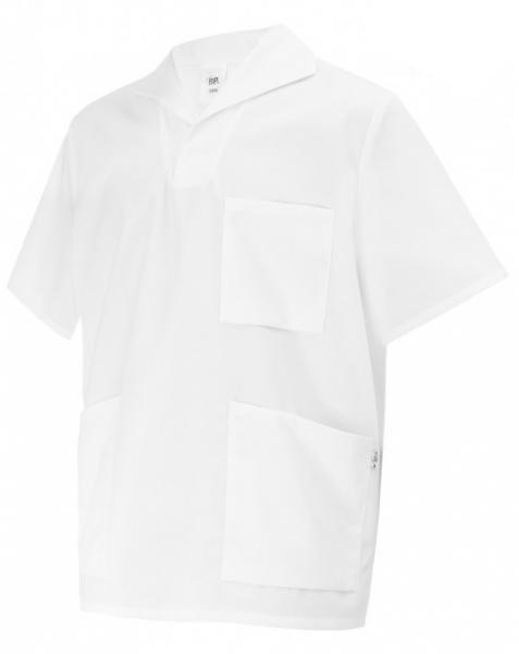 BP-Arbeits-Berufs-Kasack, Schlupf-Kasack-Jacke für Sie & Ihn, weiß