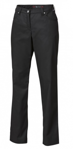 BP-Damen-Arbeits-Berufs-Hose, Jeans,  schwarz