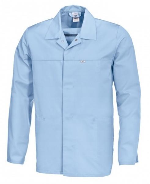 BP Food-Arbeits-Berufs-Jacke für Sie & Ihn, HACCP-Hygiene-Bekleidung,  hellblau