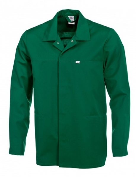 BP Food-Arbeits-Berufs-Jacke für Sie & Ihn, HACCP-Hygiene-Bekleidung,  mittelgrün