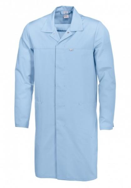 BP Food-Arbeits-Berufs-Mantel für Sie & Ihn, HACCP-Hygiene-Bekleidung,  hellblau