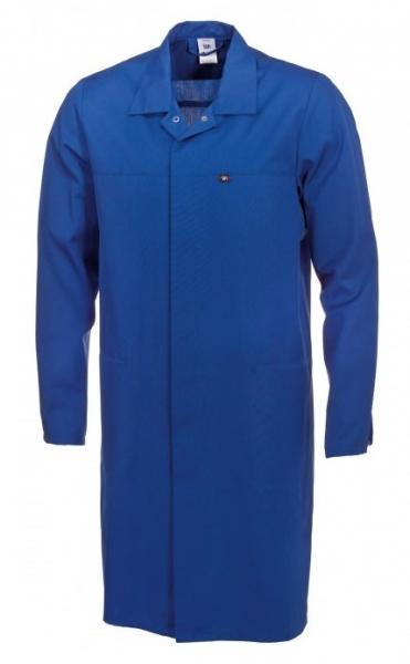 BP Food-Arbeits-Berufs-Mantel für Sie & Ihn, HACCP-Hygiene-Bekleidung Kittel, königsblau