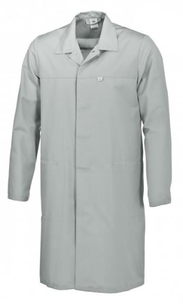 BP Food-Arbeits-Berufs-Mantel für Sie & Ihn, HACCP-Hygiene-Bekleidung,  hellgrau
