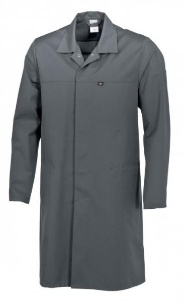 BP Food-Arbeits-Berufs-Mantel für Sie & Ihn, HACCP-Hygiene-Bekleidung Kittel, dunkelgrau
