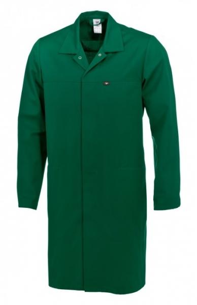 BP Food-Arbeits-Berufs-Mantel für Sie & Ihn, HACCP-Hygiene-Bekleidung Kittel,  mittelgrün