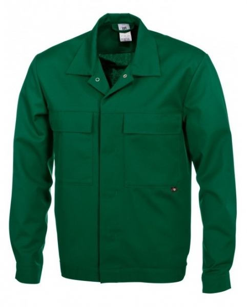 BP Food-Arbeits-Berufs-Jacke, Funktions-Blouson, HACCP-Hygiene-Bekleidung,  mittelgrün