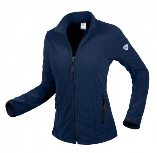 BP-Damen-Fleece-Arbeits-Berufs-Jacke, 275 g/m², nachtblau